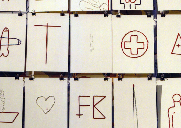 FRANKO B: Stitched Heart